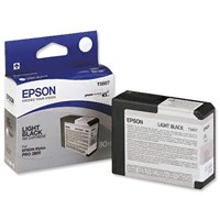 Epson T5807 Ink Cartridge - 80ml (Light Black)