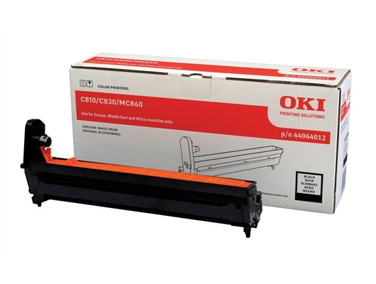 OKI 44064012 (Yield: 20,000 Pages) Black Imaging Drum