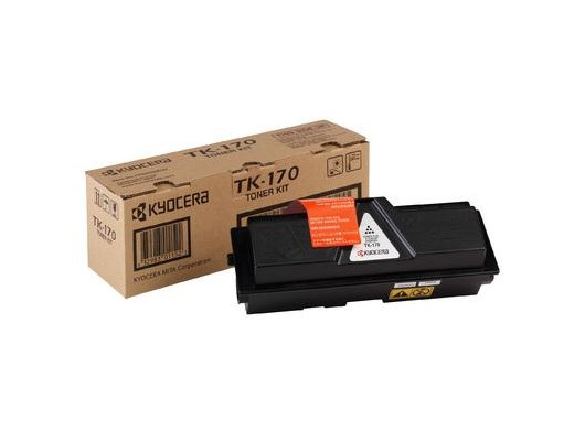 Kyocera TK-170 Black Toner Cartridge for FS1320D/FS1370DN Printers (Yield 7,200 Pages)