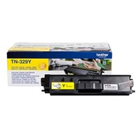 Brother TN-329Y (Yield: 6,000 Pages) Yellow Toner Cartridge