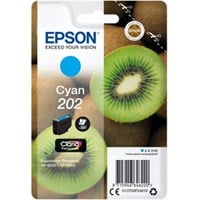 Epson Kiwi 202 (Yield: 300 Pages) Claria Premium Cya Ink Cartridge (4.1ml)