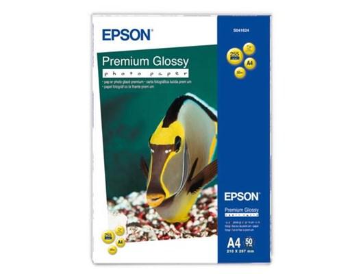 Epson (A4) Premium Glossy Photo Paper (50 Sheets) 255gsm (White)