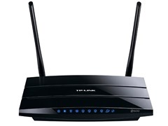 TP-LINK N600 TL-WDR3600 300Mbps (5GHz) 300Mbps (2.4GHz) Dual-Band Wireless Gigabit Router (Black)