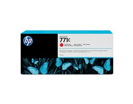 HP 771C (775ml) Chromatic Red Ink Cartridge for Deisgnjet Z6200 1067mm/Z6200 1524mm Photo Printers