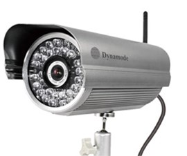 Dynamode DYN-621 IP Wireless Bullet Security Camera with Zoom 36 Infrared LED 25m Distance