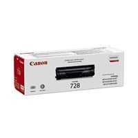 Canon 728 Black (Yield 2,100 Pages) Toner Cartridge