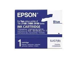 Epson SJIC7 (B) Ink Cartridge (Blue) for TM-J7100 Printer