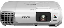 Epson EB-98H 3LCD Projector 10,000:1 3000 Lumens 1024x768 2.7kg Ethernet LAN