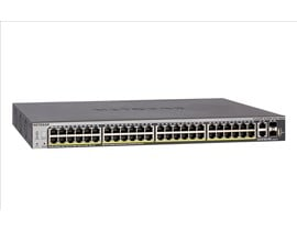 Netgear S3300 48-Port Gigabit PoE Desktop Switch