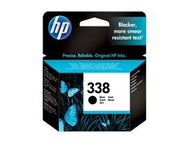 HP 338 Black Inkjet Print Cartridge (Yield 450 Pages) for Officejet 100 Mobile Printer