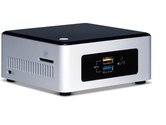 Intel NUC5PPYH Next Unit of Computing (NUC) Pentium (N3700) 1.6GHz WLAN BT (Integrated Graphics)