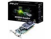PNY NVIDIA Quadro 600 Graphics Card