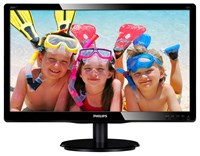 Philips V-Line 200V4LAB2 20 inch LED Monitor - 1600 x 900, 5ms, DVI