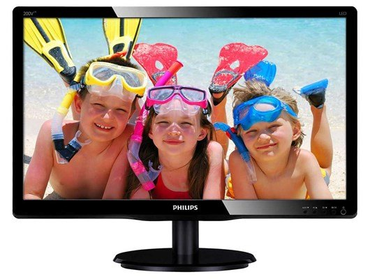 "Philips V-Line 200V4LAB2 20"" HD+ LED Monitor"