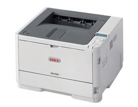 OKI B432dn (A4) Mono Laser Printer (Networked, Duplex) 512MB 1200x1200 dpi 40ppm 350-Sheets USB/Ethernet (PS3 Emulation, PCL5e, PCL6 (XL), EPSON FX, IBM ProPrinter, XPS, PDF v1.7) White