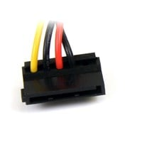 StarTech.com 4-pin Molex to Right Angle SATA Power Cable Adaptor (0.15m)
