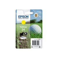 Epson Golf Ball 34 T3464 (Yield 300 pages) DURABrite Ultra Yellow 4.2ml Ink Cartridge