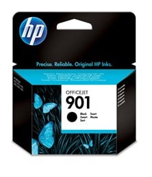 HP 901 (Yield: 200 Pages) Black Ink Cartridge