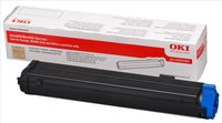 OKI 43502302 (Yield: 3,000 Pages) Black Toner Cartridge