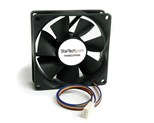StarTech.com 80x25mm Computer Case Fan with PWM - Pulse Width Modulation Connector