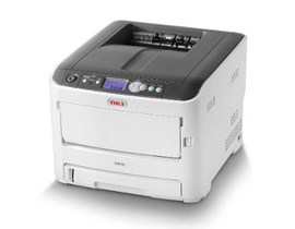 OKI C612dn (A4) Colour LED Printer (Duplex, Network Ready) 256MB 1200x600dpi 36ppm (Mono) 34ppm (Colour) 400 Sheets USB/Ethernet (PCL 6, PCL5c, PS3, PDF, SIDM, XPS)