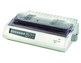 OKI Microline 3391eco 24-pin Dot Matrix Printer 136 Columns 360x360dpi USB/Parallel (Epson LQ ESC/P2, IBM PPR, IBM AGM Emulations)
