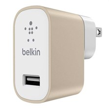 Belkin MIXIT 2.4 Amp Metallic Home Charger (Gold)