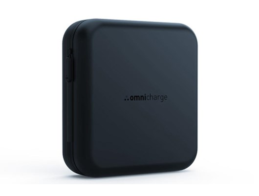 Omnicharge Compact Shock-proof Hard Protective Travel Case (Black) for Omni 20 Power Banks