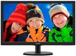 Philips (21.5 inch) LCD Monitor with LED Backlight 1920x1080 (Black)