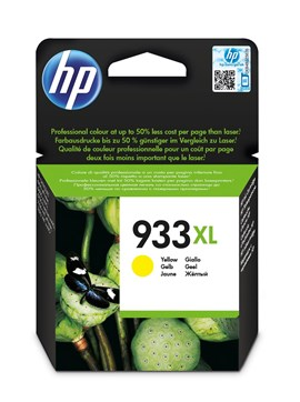 HP 933XL (Yield 825 Pages) High Yield Original Ink Cartridge (Yellow)