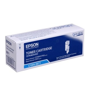 Epson Standard Capacity Cyan Toner Cartridge (Yield 700 Pages)