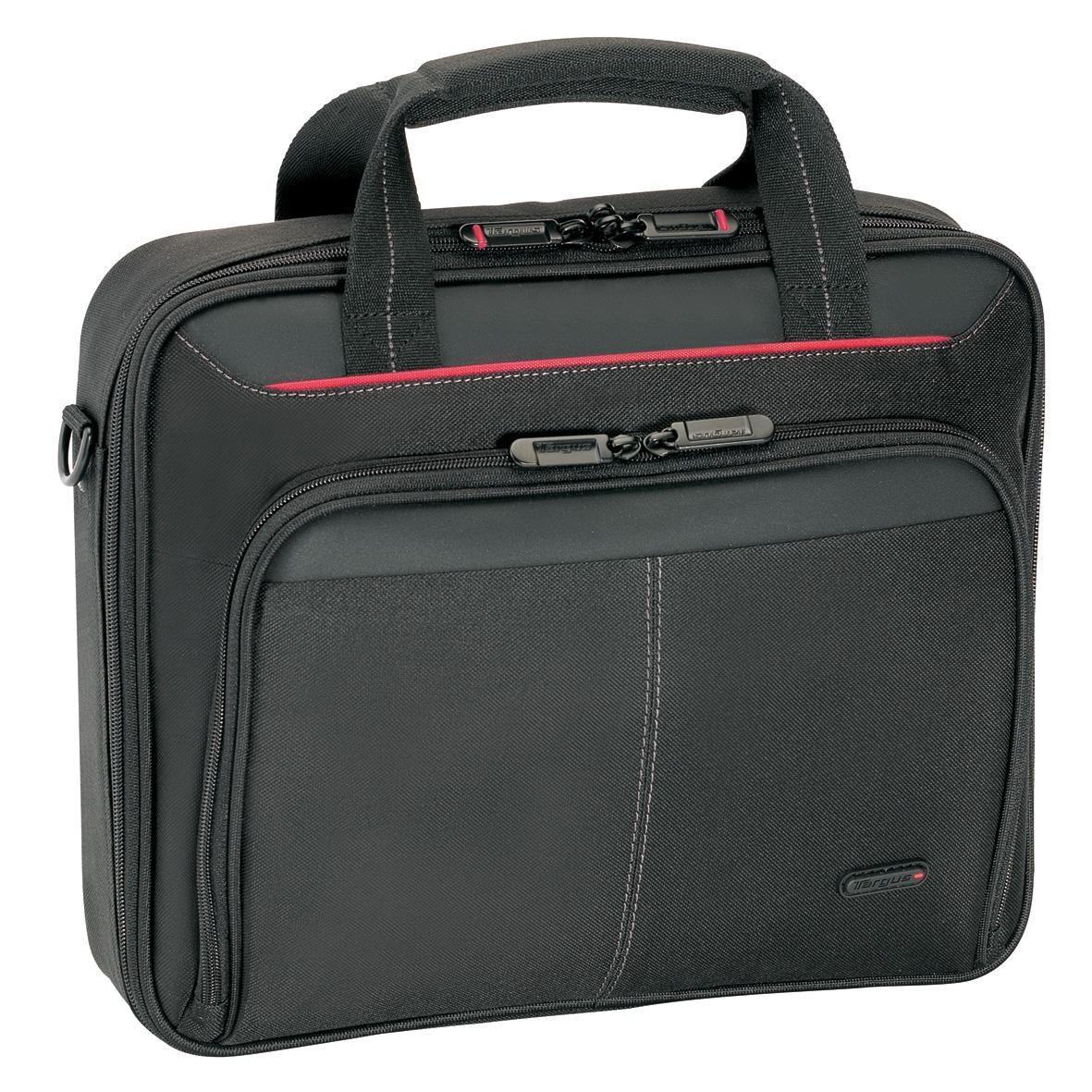 targus clamshell black nylon laptop case for 13 3 inch notebooks