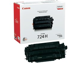 Canon 724H Black Toner Cartridge High Capacity