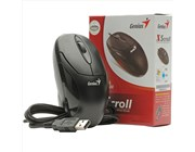Genius XScroll Black USB Optical Mouse