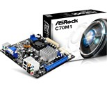 ASRock C70M1 ITX Motherboard with AMD C-70 1.0GHz Dual-Core Integrated Processor