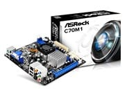 ASRock C70M1 AMD Integrated CPU Motherboard