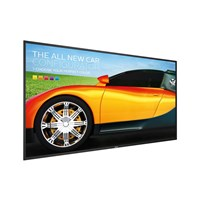 Philips Q-Line (55 inch) LED 4K Display Android 5.1 Quad Core 2GB DDR3 8GB eMMC HTML5  CMND (Black)