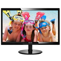 Philips V-Line 246V5LDSB 24 inch LED 1ms Monitor - Full HD, 1ms