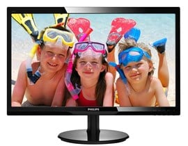 "Philips V-Line 246V5LDSB 24"" Full HD LED Monitor"
