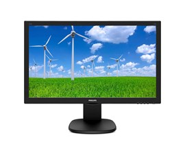Philips 243S5LHMB/00 (23.6 inch) LCD Monitor with 1920 x 1080 250 cd/m2 1000:1 16:9 1 ms (Black) *Open Box*