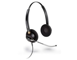 Plantronics EncorePro HW520 Over-the-Head Binaural Voice Tube Headset with Microphone