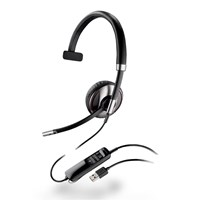 Plantronics Blackwire C710 Over-the-Head Monaural UC Headset (Standard)