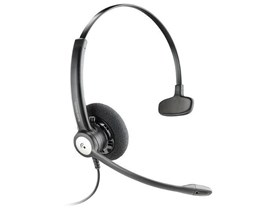 Plantronics Entera HW111N/A Mono Corded Headset with Noise-Cancelling Microphone
