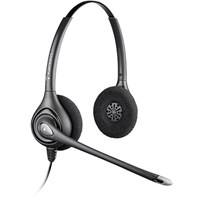 Plantronics SupraPlus HW261N Binaural Noise Cancelling Wideband USB Headset (Optimized to Support Office Communicator 2007) - EMEA