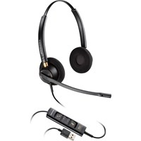 Plantronics EncorePro HW525 USB Over-the-Head Stereo Corded Headset with Noise Canceling Microphone