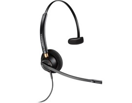 Plantronics EncorePro HW510D Over-the-Head Monaural Headset with Noise Canceling Microphone