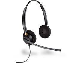 Plantronics EncorePro HW520 Over-the-Head Binaural Headset with Noise Cancelling Microphone
