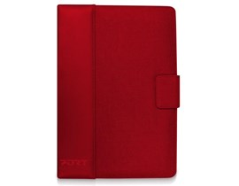 Port Designs Phoenix IV Universal Portfolio Protective Case (Red) for 7 inch Tablet