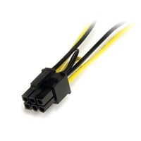StarTech.com 6 inch SATA Power to 6 Pin PCI Express Video Card Power Cable Adaptor