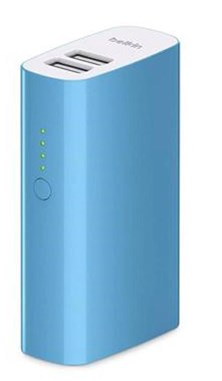 Belkin MIXIT Portable Battery Power Pack 4000 with 6 inch Micro USB Cable (Blue)